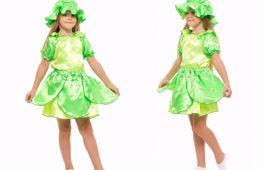 Костюм для детского праздника. Как пошить наряд капусты для девочки