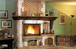 Дровяные камины из кирпича: как своими руками построить уют для дома