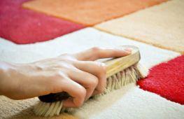 Чистка ковра в домашних условиях: как сделать это быстро и эффективно