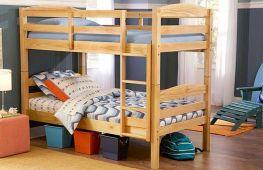 Как сделать качественную двухъярусную кровать из дерева своими руками