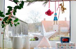 Праздничное оформление дома: как сделать украшение для окон. Варианты красивого декора на Новый год