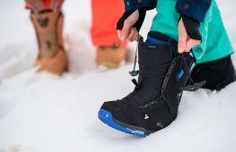Обувь для катания на сноуборде: как подобрать ботинки новичку