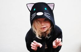 Образ кошки на Новый год: костюм для девочки своими руками