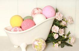 Бомбочки для ванны своими руками: пошаговые рецепты с фото и видео