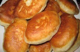 Пирожки на кефире – вкусное домашнее лакомство: технология приготовления жареных и печеных пирожков