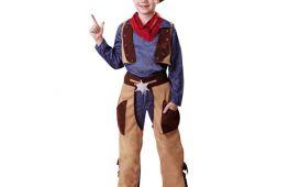 В духе Дикого Запада: костюм ковбоя для мальчика на Новый год
