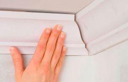 Крепим потолочный плинтус: секреты правильных углов без использования стусла