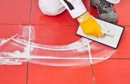Технология затирки швов плитки в ванной при выполнении работ своими руками