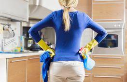 Как отмыть застарелый жир на кухне