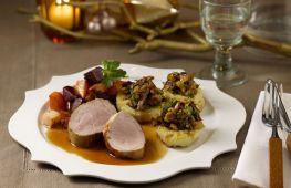 Горячие вкусные блюда к застолью на Новый год. Пошаговые рецепты из мяса, рыбы и овощей