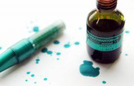 Как отмыть кожу, ногти и волосы от зеленки. Лучшие средства и советы