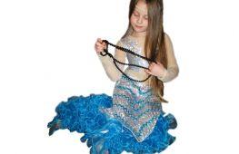 Как сделать на Новый год для девочки наряд русалки. Варианты костюма