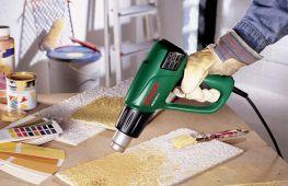 Как правильно выбрать строительный фен для работ в домашних условиях
