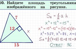 Расчет площади треугольника: простые и доступные способы