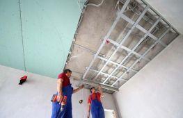 Как сделать потолок из гипсокартона своими руками: пошаговая инструкция – от разметки до финальной отделки