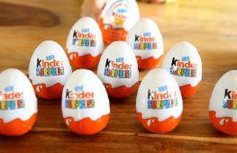 Шоколадное яйцо с нужной игрушкой или как правильно выбрать киндер сюрприз