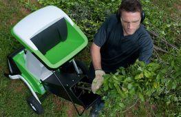 Выбираем лучший электрический садовый измельчитель для веток и травы