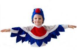 Мастерим своими руками: костюм снегиря для ребенка на новый год