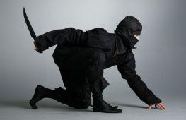 Мастерим своими руками: костюм ниндзя для мальчика на новый год