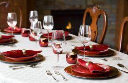 Праздничный стол: секреты сервировки