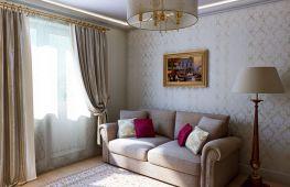 Обои для маленького зала: какие выбрать, чтобы комната казалась больше?