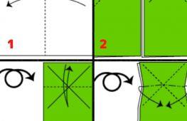Как сделать лягушку из бумаги. Оригами