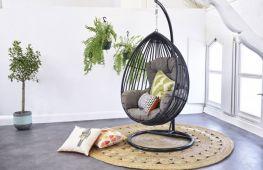 Подвесное кресло – центр притяжения вашего дома