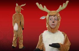 Как сделать костюм и грим оленя для новогоднего утренника