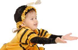 Новый год в костюме пчелки