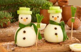 Украшение блюд на новый год: оригинальные идеи и фото