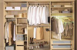 Как грамотно спланировать шкаф-купе внутри: правила и варианты наполнения