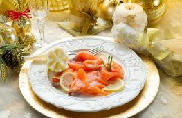 Блюда из рыбы на Новый год: оригинальные и вкусные рецепты с фото