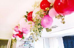 Гирлянда из воздушных шаров своими руками: просто в исполнении — эффектно в украшении