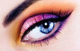 Как красиво накрасить глаза тенями: пошаговая инструкция