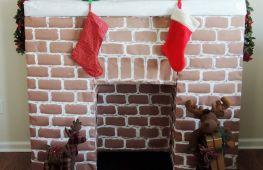 Декоративный фальш-камин для своего дома или дачи. Как сделать собственными руками из гипсокартона или картона