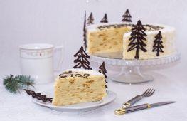 Вкусный торт «Наполеон» на Новый год по бабушкиному рецепту