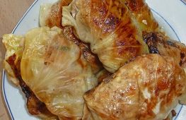 Как вкусно приготовить голубцы в духовке