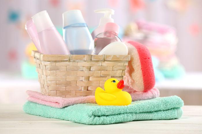 Косметические средства приобретайте только те, которые предназначены именно для новорожденных