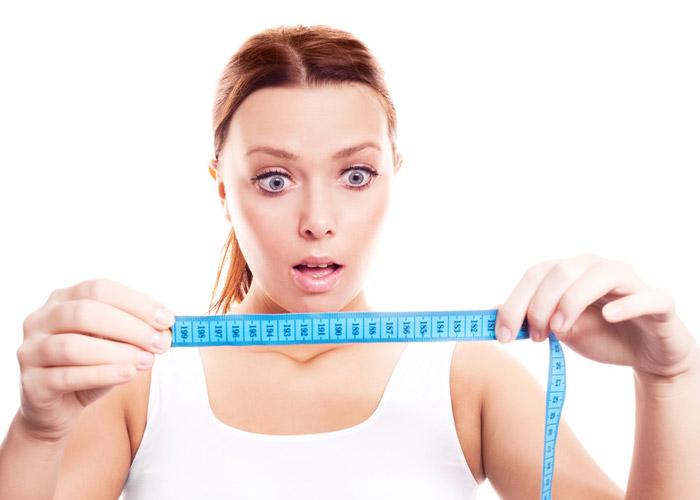 Контролируйте свой вес и объемы регулярно