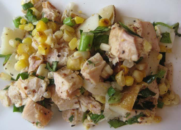 Салат Нежность с куриным филе