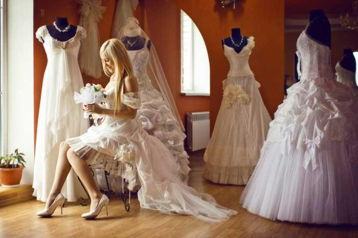 Наряд невесты нужно заказать заранее