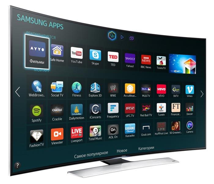 Смарт ТВ дает возможность просматривать программы и фильмы через интернет