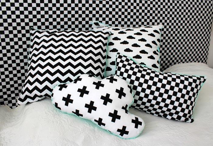 Для набивания подушек выбирайте гипоаллергенный материал