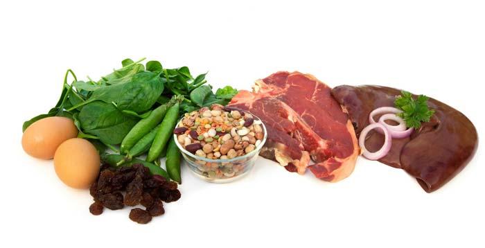 Уровень гемоглобина можно повысить, скорректировав питание