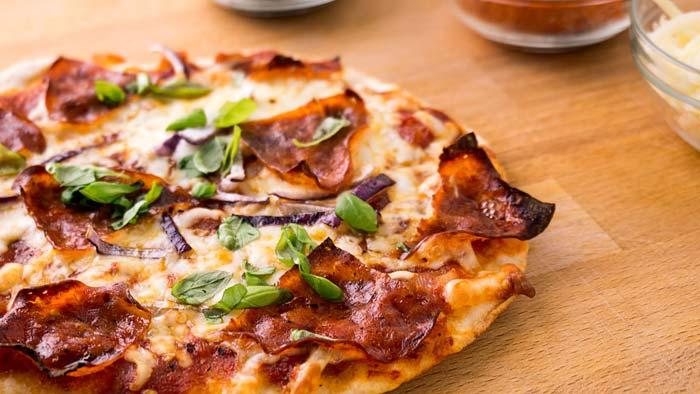 В качестве начинки используйте свои любимые овощи и мясные продукты