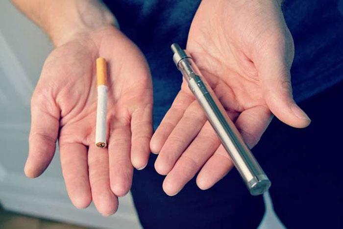 Один из способов бросить курить - перейти на безникотиновые электронные сигареты