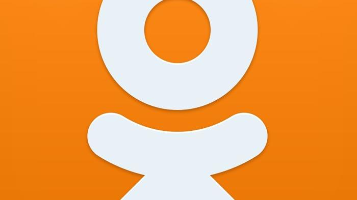 Логотип соцсети Одноклассники