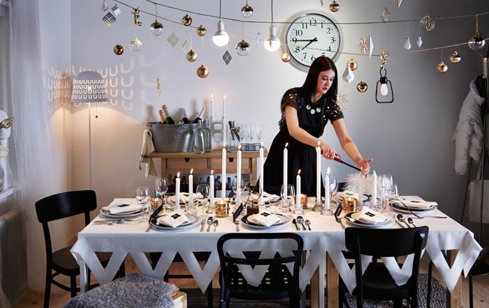 Свечи подойдут для сервировки стола к любому празднику