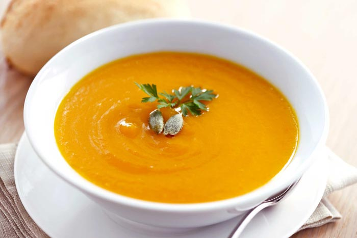 Суп из тыквы не только вкусен. но и очень полезен