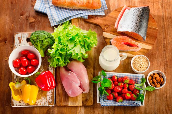 Правильное питание должно включать большое разнообразие продуктов